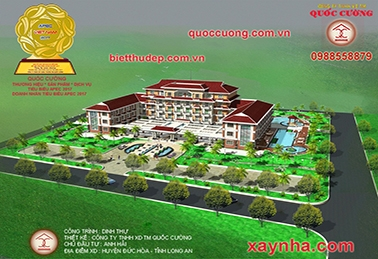 BEAUTIFUL VILLA, VILLA DESIGN, VILLA, VILLA DESIGN. ANH HAI VILLAGE