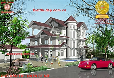 BEAUTIFUL VILLA, VILLA DESIGN, VILLA VILLA. Beautiful villa DNTN Ut Nu-Tra Vinh